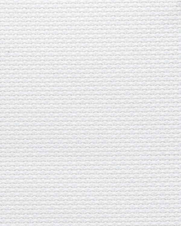 Vev Aida hvit 4,4 ruter/cm