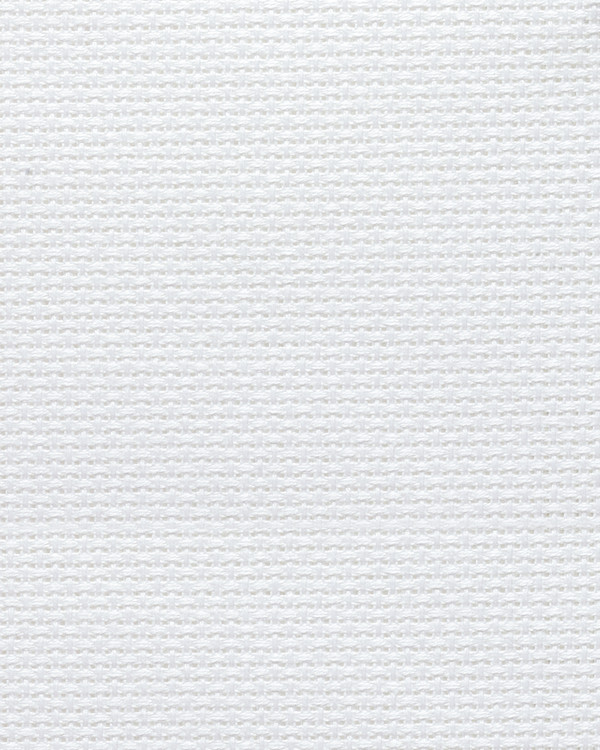 Vev Aida hvit 6,4 ruter/cm