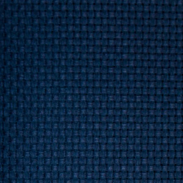 Stof Aida blå 7,2 kvadr. pr. cm