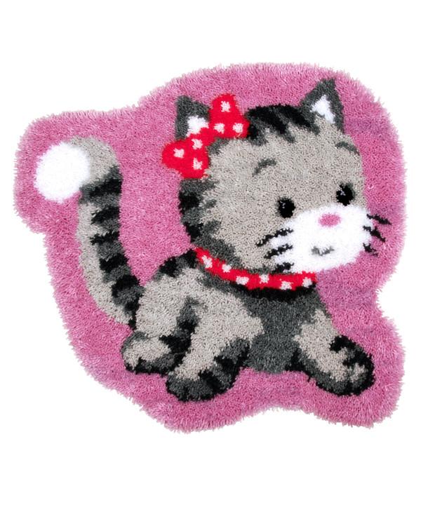 Ryematte Søt kattunge