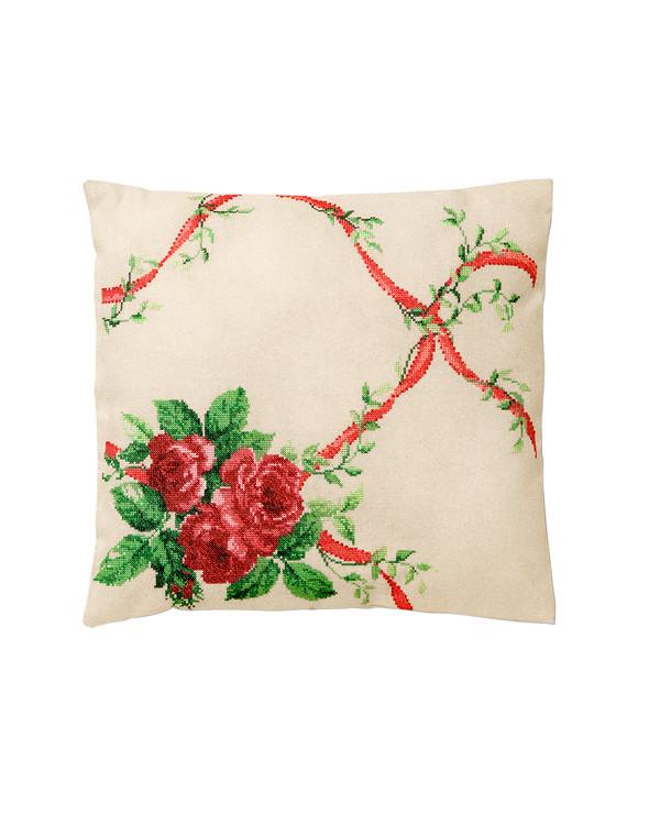 Tyynynpäällinen Ruusuornamentti