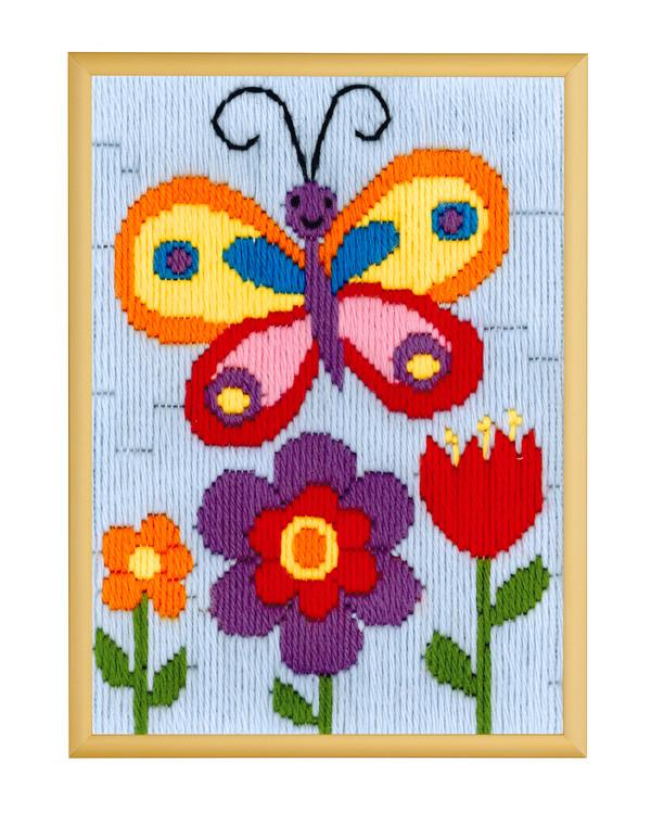 Langstich Schmetterling