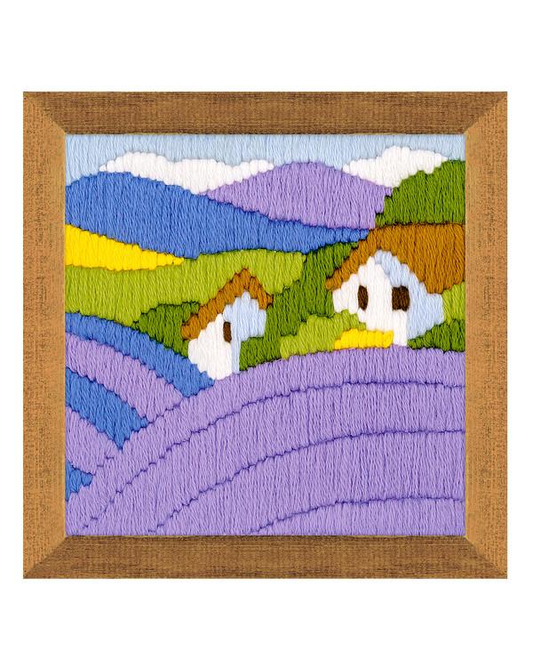Langstich Lavendel