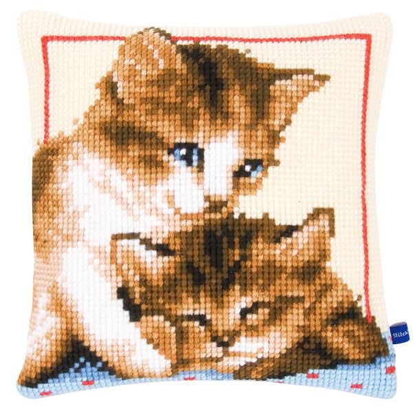 Tyynynpäällinen Leikkisät kissat