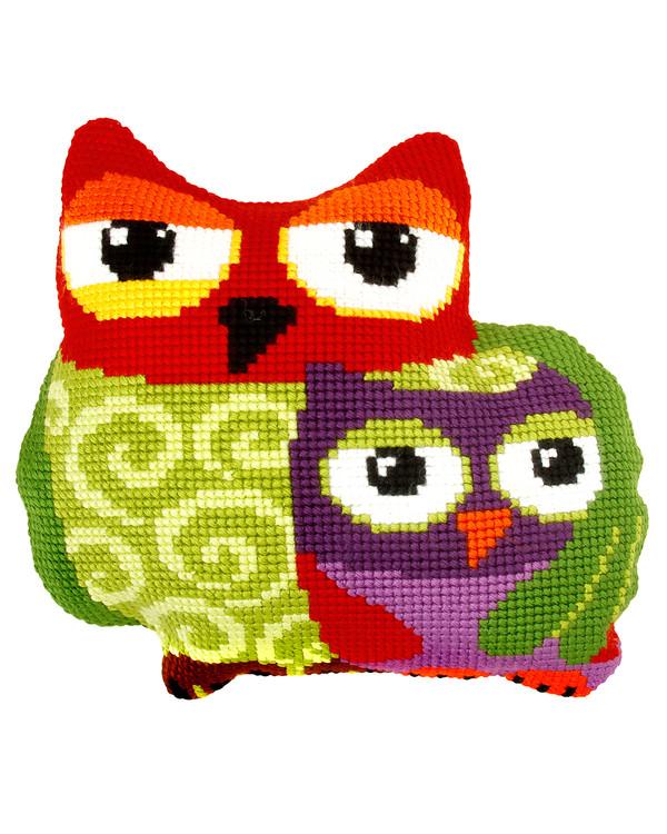 Tyynynpäällinen Pöllöt