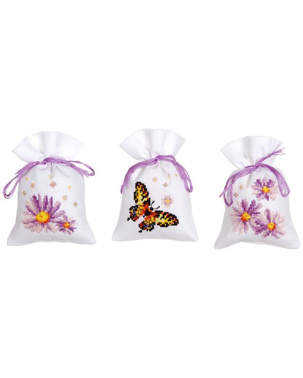 Doftpåsar Blomster 3-pack