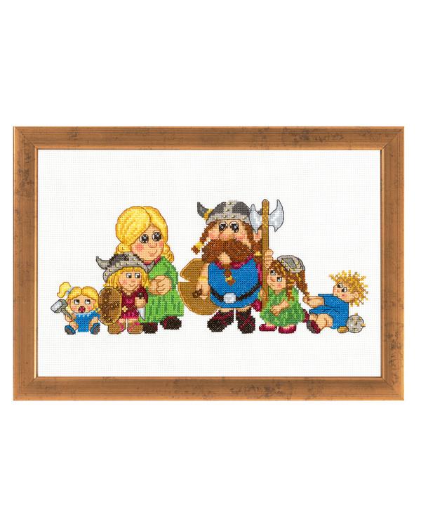 Bilde Vikingfamilien