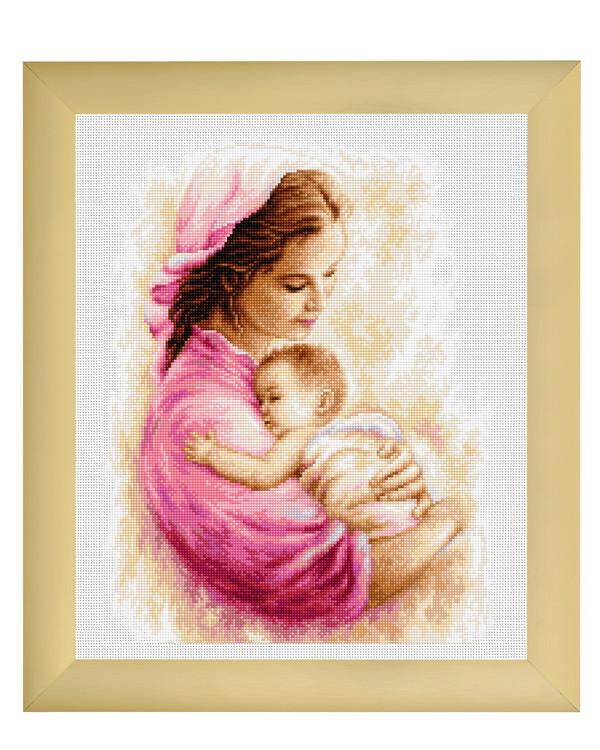 Broderikit Tavla Mor och dotter