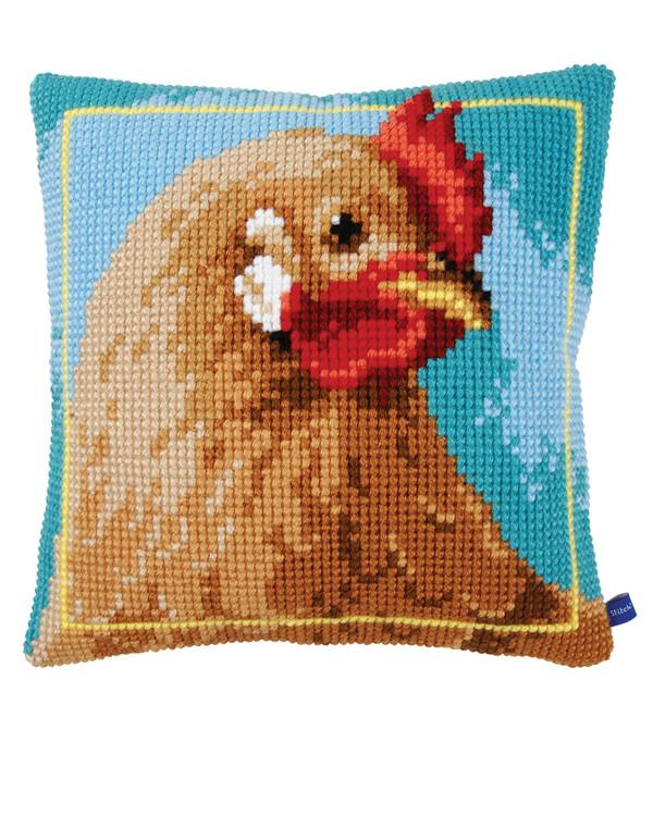 Tyynynpäällinen Kana ruskea