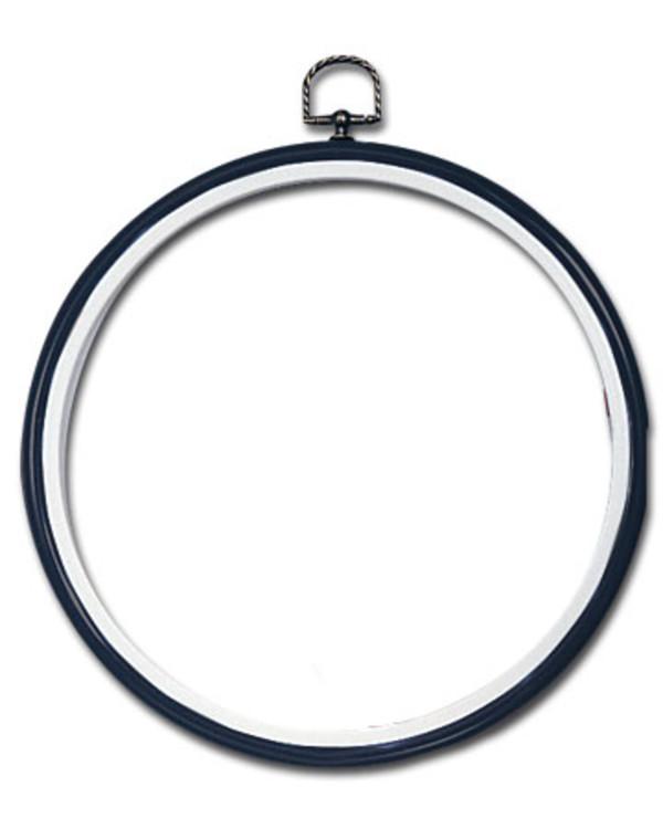 Flexiramme runde svart