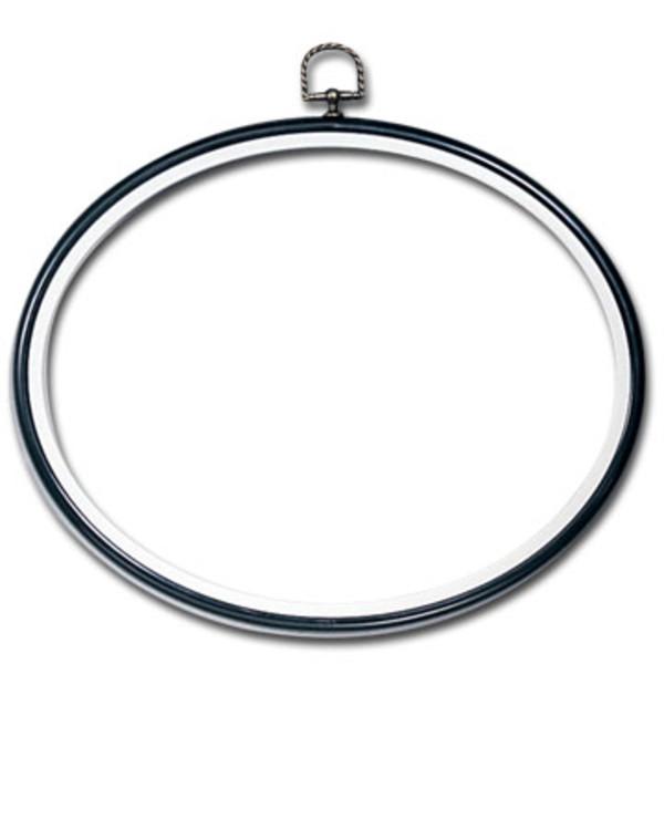 Flexiramme oval svart