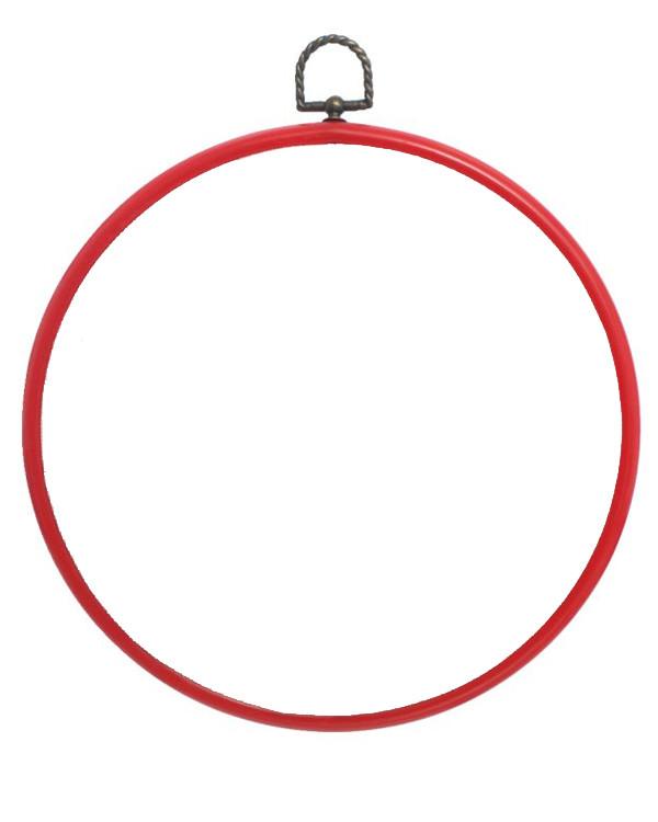 Flexiramme runde rød