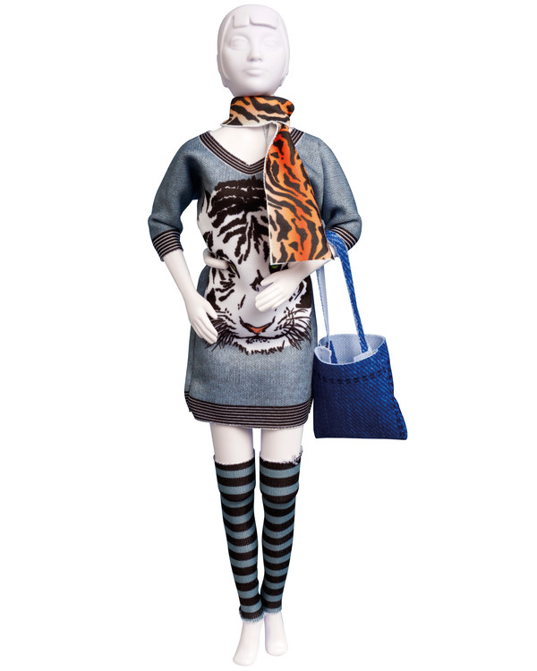 Dress Your Doll Outfit Sally Tiger