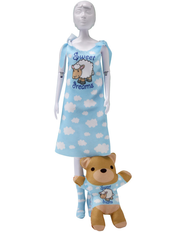 Dress Your Doll Outfit Sleepy Sweet Dreams