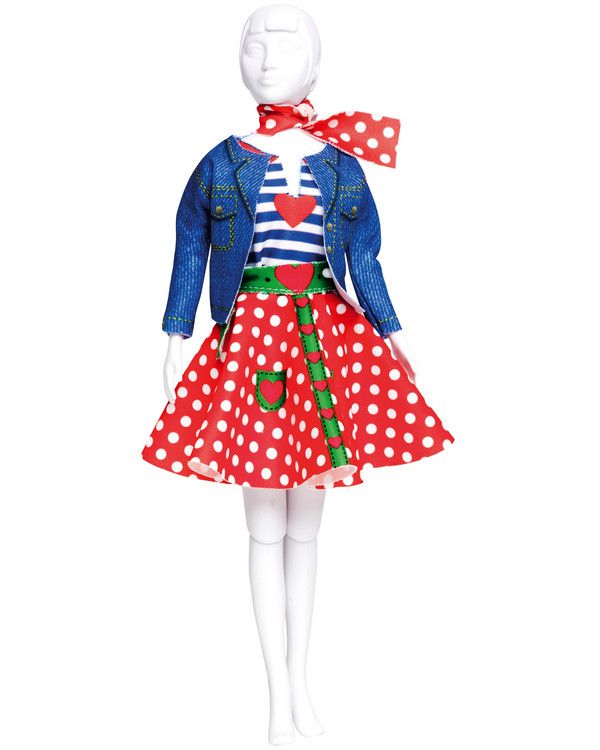 Dress Your Doll Outfit Polka Dots