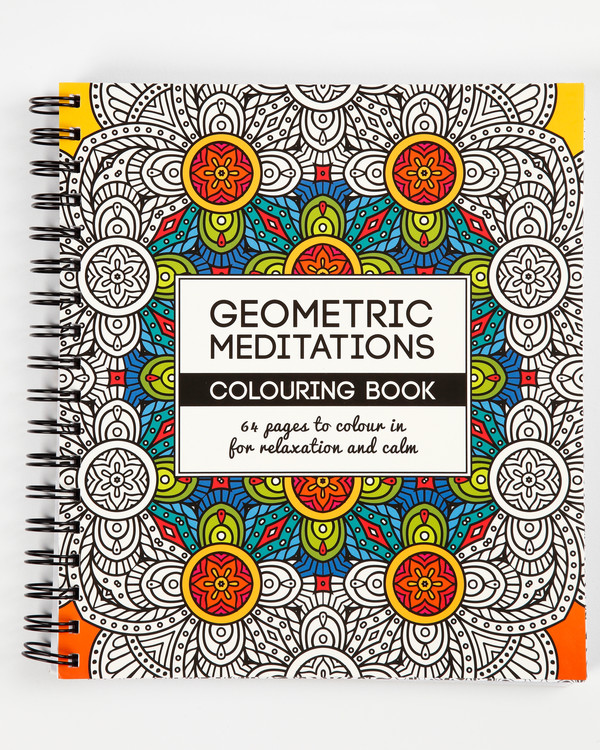Malebok mindfulness Geometric