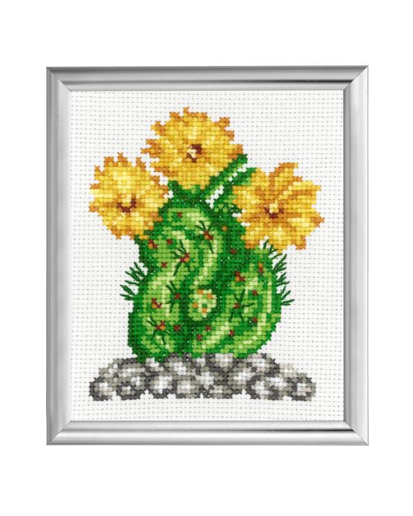 Taulu Kaktus Keltainen kukka