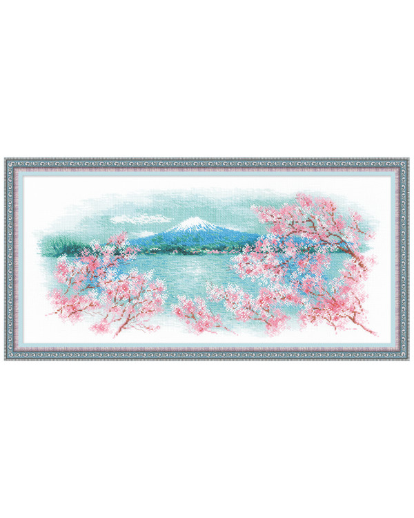 Broderikit Tavla Sakura Fuji