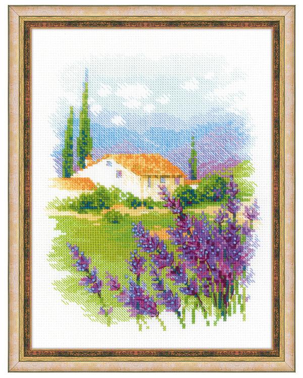 Broderikit Tavla Gården i Provence
