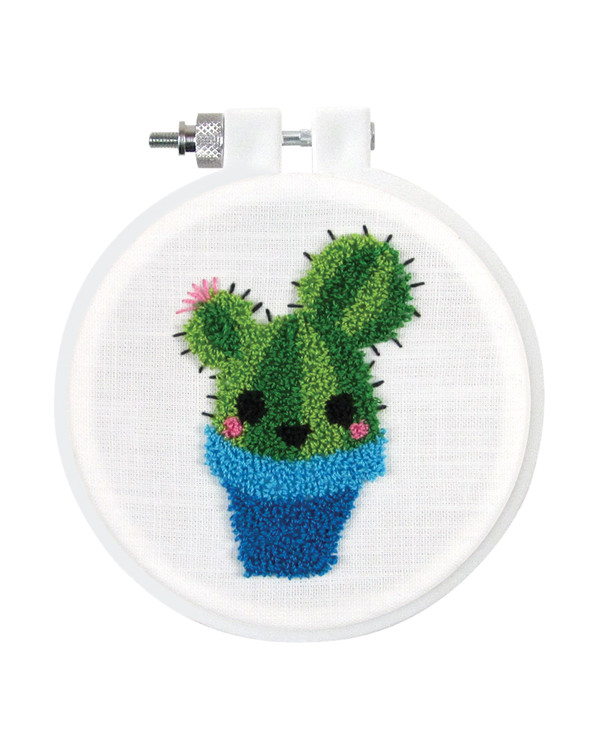 Punch needle Kit Kaktus