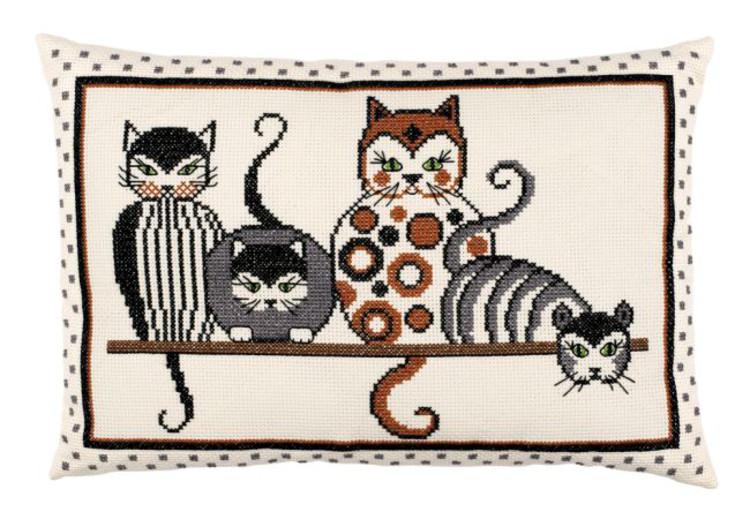 Tyynynpäällinen Modernit katit