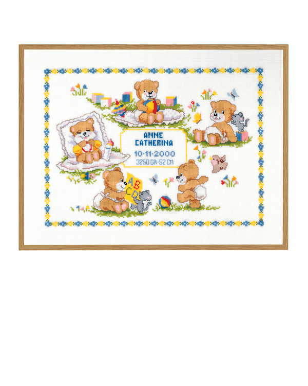 Syntymätaulu Suloiset pikkukarhut