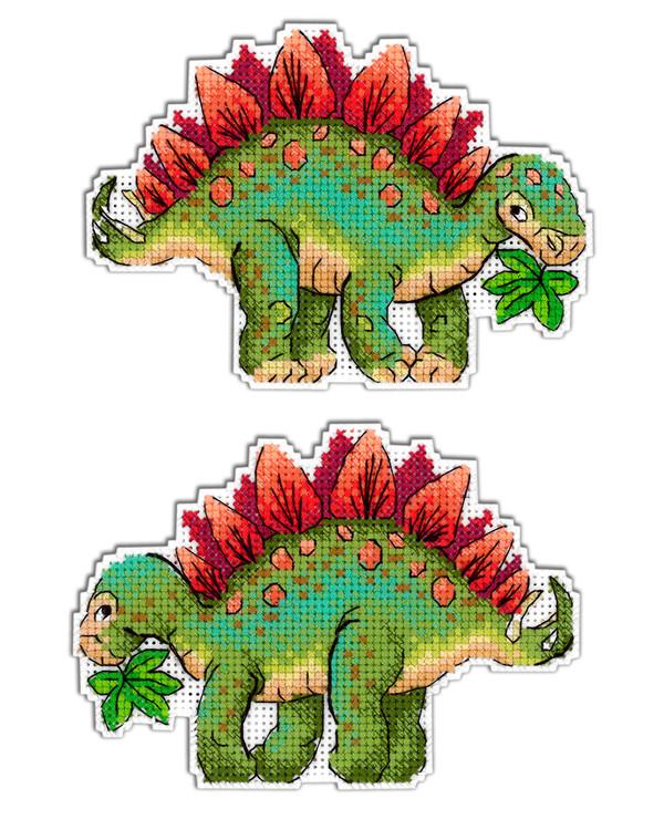 Bild Grüner Dinosaurier