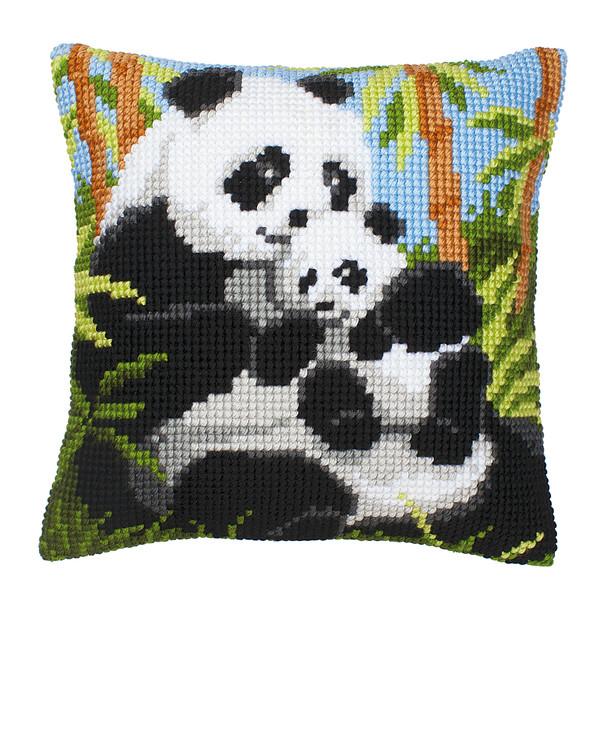 Tyynynpäällinen Pandaperhe