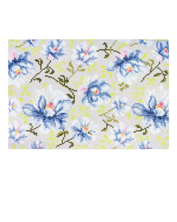 Matte Blå blomster