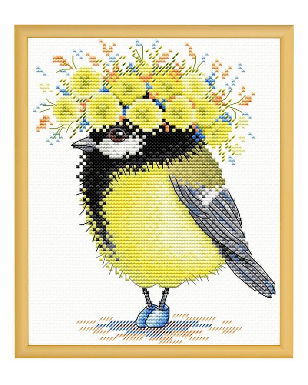 Billede Glad fugl