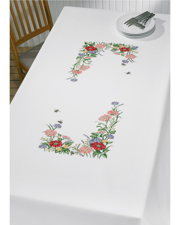 Iso pöytaliina Kedon kukkia