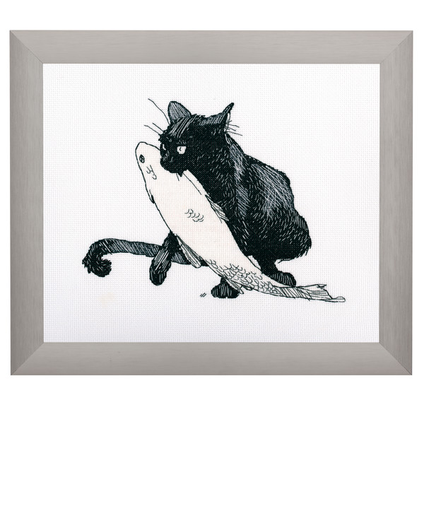 Billede Sort kat