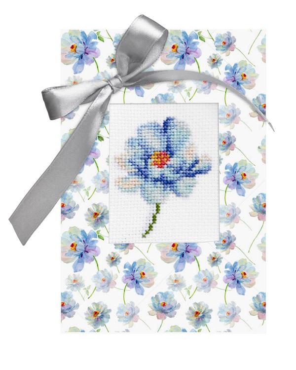Kortti Sininen kukka