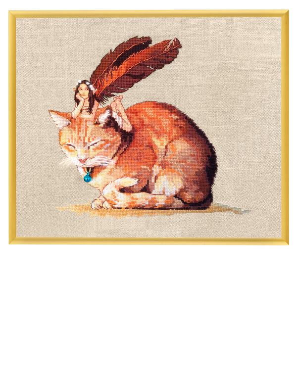 Bilde Alven og Katten