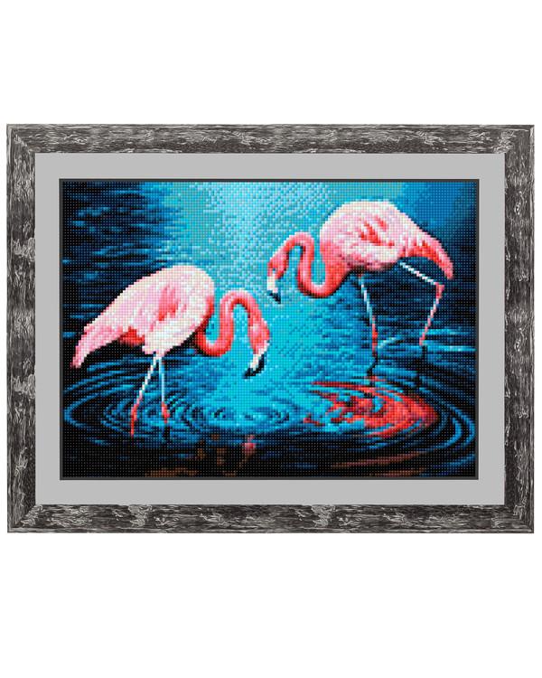 Diamond painting Flamingo
