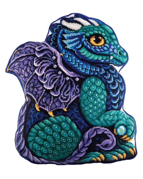 Broderikit Figur Draken