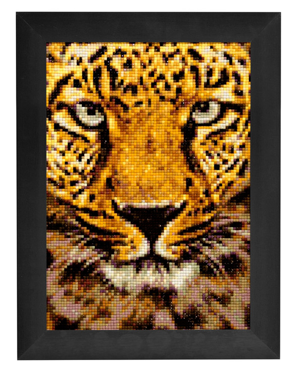 Diamond painting Leopard
