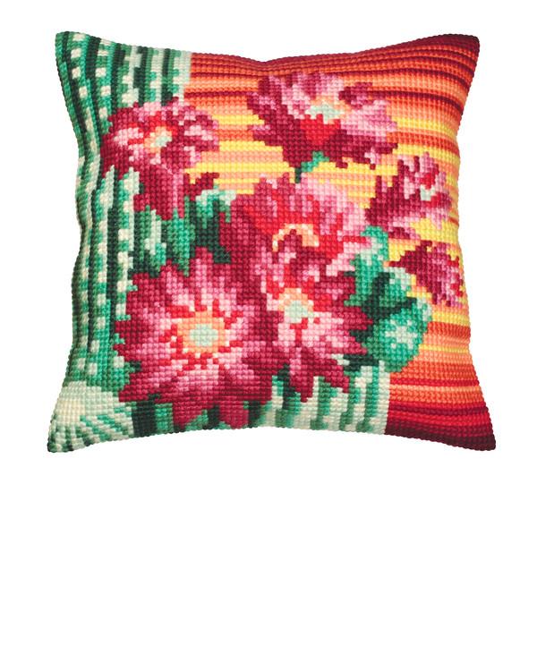 Kissen Kaktusblüten