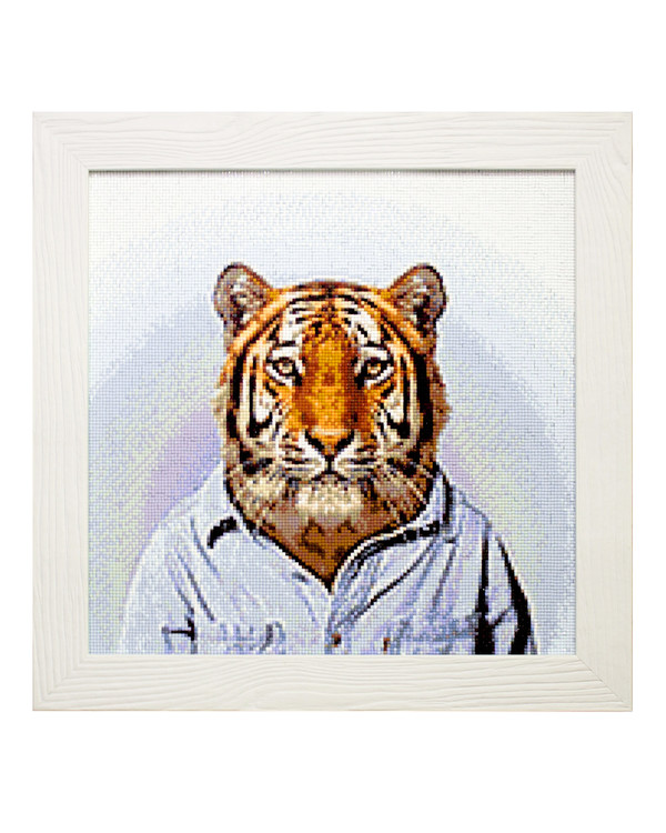 Diamond painting Mr Tiger