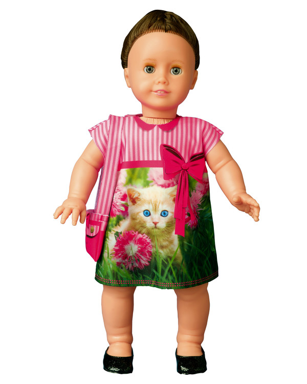Dress your doll Outfit Cecily kitten