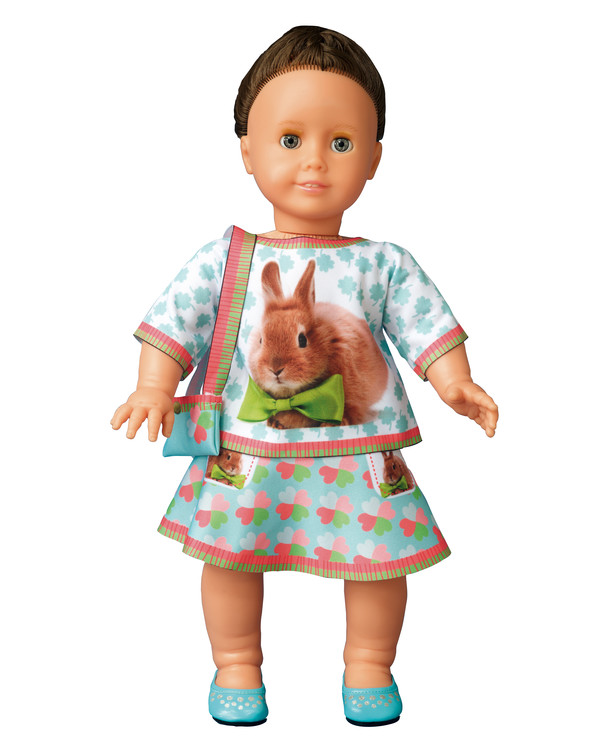 Dress your doll Outfit Emily bunny