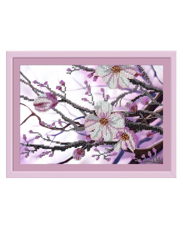 Pärlbroderi Blomster