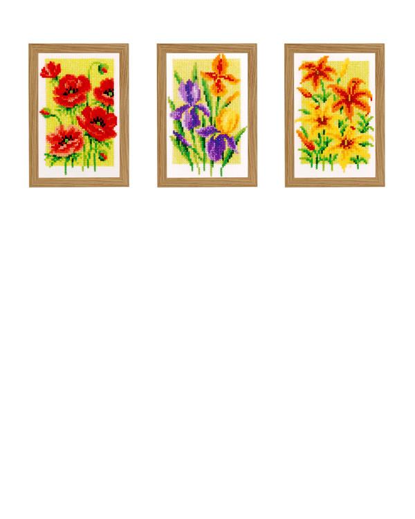 Bilder Blomster 3-pk