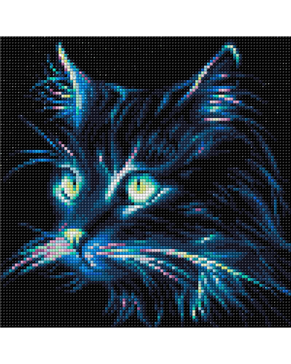 Diamond painting Katt
