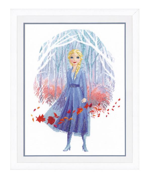 Broderikit Tavla Frozen Elsa