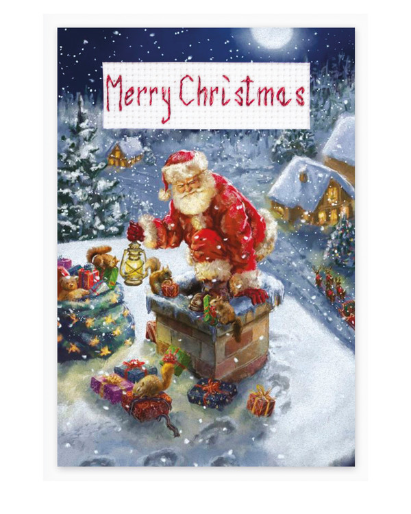Kort Jultomten