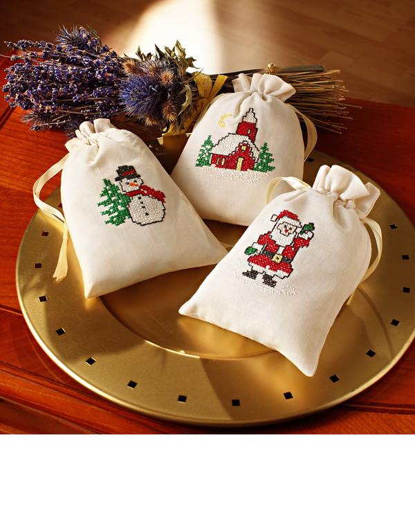 Doftpåsar Julen 3-pack