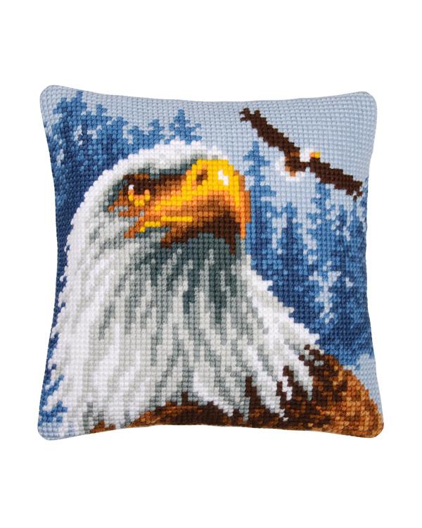 Stickpackung Kissen Adler