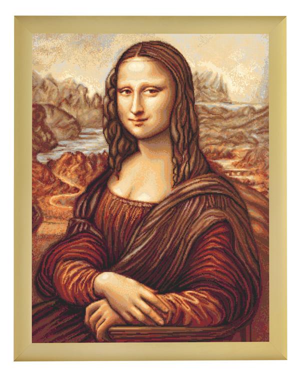 Stickpackung Bild Mona Lisa