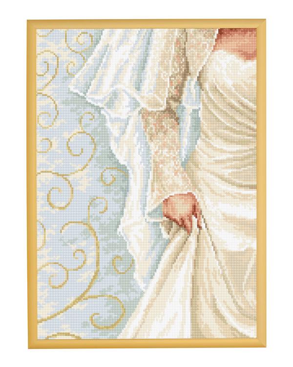 Stickpackung Bild Die Braut